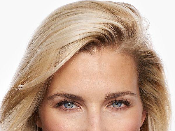 Gesichtsbehandlung Stirn